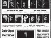 Italiano: Capilar Mourade J. inserzione del 6.8.1932 su La Libertad di Madrid - No mas calvos - hechos y no palabras