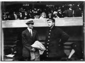 [Ty Cobb & Christy Mathewson, New York, NL during World Series (baseball)]  (LOC)