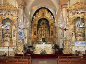 GOA, INDIA: Calangute Church Altars