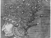 In 1532, the French ambassador Antonio Rincon presented Suleiman with this magnificent tiara, made in Venice for 115,000 ducats. Garnier, p.52