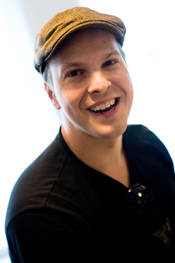 English: Gavin DeGraw on a promotion tour at Radio Pilatus, Lucerne, Switzerland.