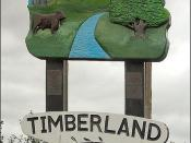 Timberland Village Sign, Lincolnshire
