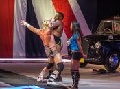 Dolph Ziggler w/ AJ Lee & Big E Langston