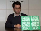 English: Jonathan Safran Foer at Barnes & Noble Union Square to discuss his book Eating Animals.