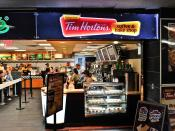 Tim Hortons Coffee & Bake Shop