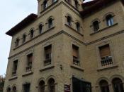 Español: Huesca - Edificio del Servicio Provincial de Medio Ambiente