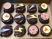 Percy Jackson & the Lightning Thief cupcakes