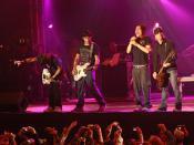Banda brasileira NX Zero, em 2007.