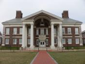 Gore Hall at the University of Delaware