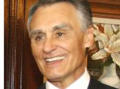 English: The President of Portugal, Aníbal Cavaco Silva. Português: O presidente de Portugal, Aníbal Cavaco Silva.
