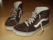 Classic Vans sport shoes