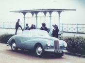1954 Sunbeam Alpine Mark I