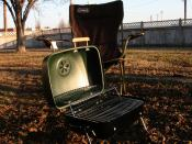 English: Portable grill by Sunbeam®.