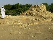 Deutsch: Ruinen des antiken Ubar