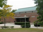 English: Brookhaven Gymnasium at Suffolk County Community College