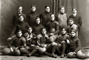 Official photograph of 1900 University of Michigan football team