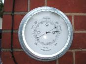 modern aneroid barometer