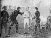 English: Vallandigham's arrest.