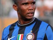 de: Samuel Eto'o - Inter Mailand en: Samuel Eto'o - F.C. Internazionale Milano