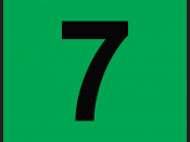 English: Number 7 from VET Rating