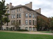 English: photo of Norwood Hall from the southwest, on the Missouri S&T campus in Rolla, Missouri; October 17, 2008