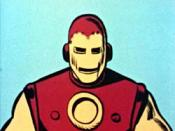 Iron Man on The Marvel Super Heroes animated series.