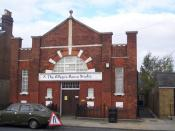 English: The Allegro Dance Studio, Faversham In a converted church on Stone Street. Studio has been going for 25 Years.