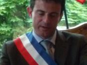 Français : Photographie de Manuel Valls prise en Mairie d'Evry