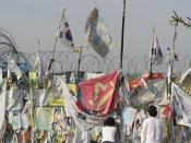South Korean Side of the Demiliterized Zone in Korea.