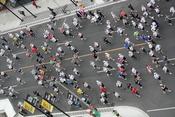 Sporting Life 10k Run, Toronto, Ontario, Canada.