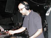 English: Moby at NASA Rewind 2004 in NYC (Manhattan)