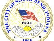 Official seal of City of South Bend, Indiana