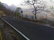 English: Roadways at matheran