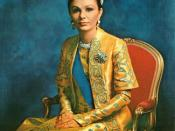 English: Farah Pahlavi- former Shahbanu of Iran