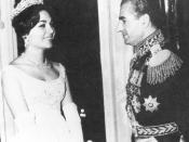 English: Wedding of Shah Mohammad Reza Pahlavi and Farah Diba, 1959