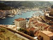 English: View of Bonifacio, Corsica Français : Vue de Bonifacio, en Corse