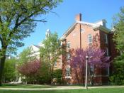 English: Fell Hall, Illinois State University, Normal, Illinois