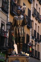Español: Procesión de San Isidro Labrador - Calle Toledo