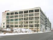 English: Fisher Body Plant 21, on Piquette Avenue, Detroit, Michigan, United States.