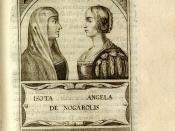 Isotta Nogarola, with Angela Nogarola (her aunt poetess)