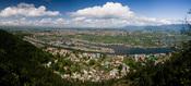 English: View of Dal Lake and the city of Srinagar from Shankaracharya Hill