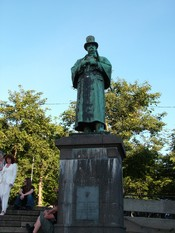 Statue of Alexander Kielland in Stavanger