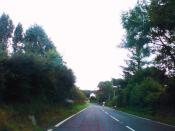 English: Road through Tremain