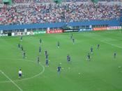 Futbol Corea vs. Japon