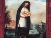 Kateri Tekakwitha, the patron of ecologists, exiles, and orphans, was beatified by the Roman Catholic Church.