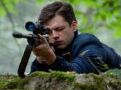 Sebastian Stan as Bucky in 2011 film, Captain America: The First Avenger.