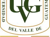 English: Logo of Universidad del Valle de Guatemala