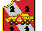 English: United States Marine Corps 4th Light Armored Reconnaissance Battalion insignia. Made with Photoshop.