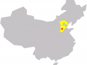 Shijiazhuang in China