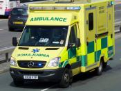 English: South Western Ambulance